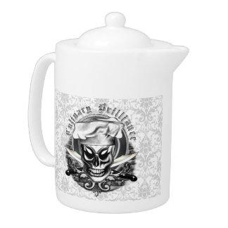 Chef Skull 4: Culinary Brilliance Teapot