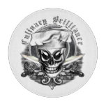 Chef Skull 4 Cutting Board