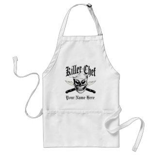 Chef Skull 4: Killer Chef Adult Apron
