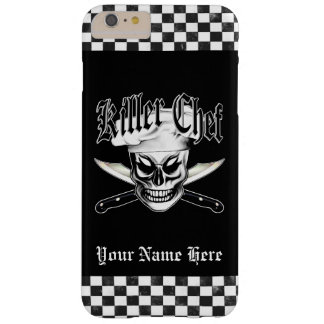 Chef Skull 4: Killer Chef Barely There iPhone 6 Plus Case