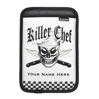 Chef Skull 4: Killer Chef iPad Mini Sleeve