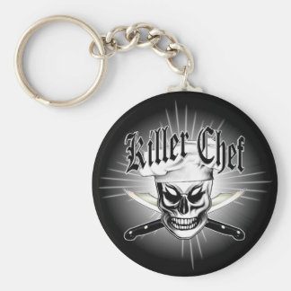 Chef Skull 4: Killer Chef Keychain