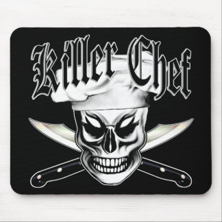 Chef Skull 4: Killer Chef Mouse Pad