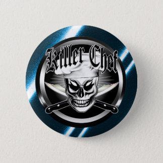 Chef Skull 4: Killer Chef Pinback Button