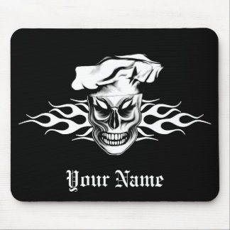 Chef Skull 4 Mouse Pad