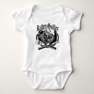 Chef Skull 5 Baby Bodysuit