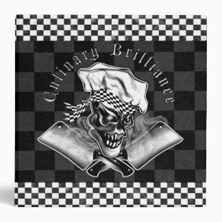 Chef Skull 5 Binders