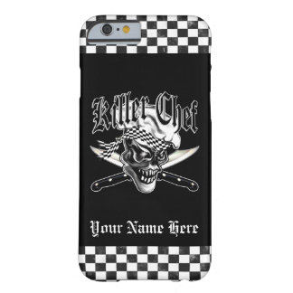 Chef Skull 5 Barely There iPhone 6 Case