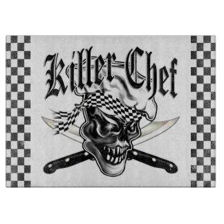 Chef Skull 5 Cutting Board