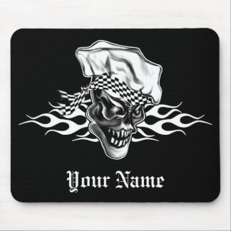 Chef Skull 5 Mouse Pad