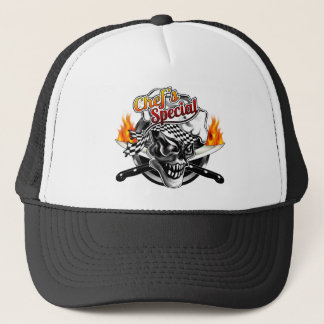 Chef Skull 5 Trucker Hat