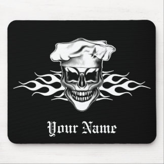Chef Skull 6 Mouse Pad