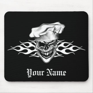 Chef Skull 7 Mouse Pad