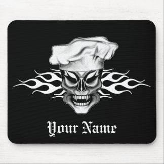 Chef Skull 9 Mouse Pad