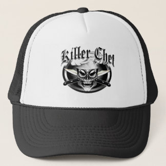 Chef Skull 9 Trucker Hat