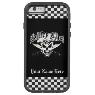 Chef Skull and Crossed Chef Knives 2 Tough Xtreme iPhone 6 Case