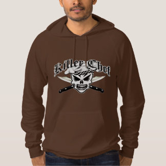 Chef Skull and Crossed Chef Knives 2 Hooded Pullover