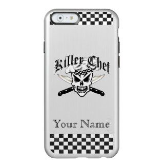 Chef Skull and Crossed Chef Knives 2 Incipio Feather® Shine iPhone 6 Case