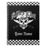 Chef Skull and Crossed Chef Knives 2 Note Book