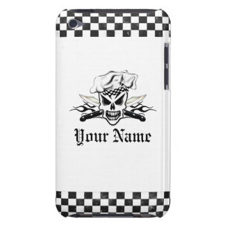 Chef Skull and Flaming Chef Knives 2 Case-Mate iPod Touch Case