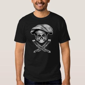 Chef Skull and Ribs Tee Shirt
