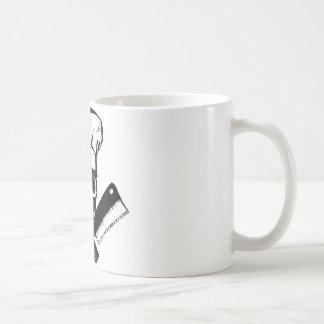 Chef Skull (B&W) Mug