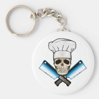 Chef_Skull_C1 Key Chains