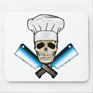 Chef_Skull_C1 Mouse Pad