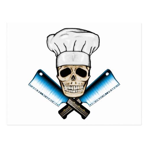 Chef_Skull_C1 Postcard