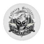 Chef Skull Cutting Board: Culinary Brilliance