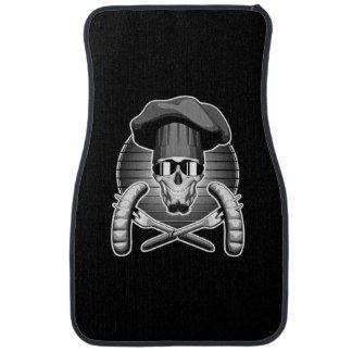 Chef Skull: Griller Floor Mat