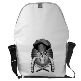 Chef Skull: Grilling Courier Bag