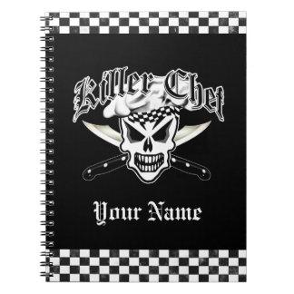 Chef Skull: Killer Chef Note Books