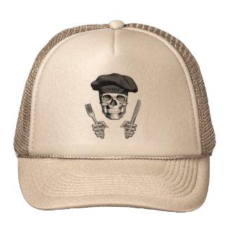 Chef Skull: Knife and Fork Trucker Hat