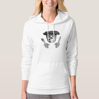 Chef Skull: Knife and Fork Hoodie