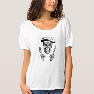Chef Skull: Knife and Fork T-Shirt