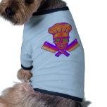 Chef_Skull_psych Camisa De Mascota