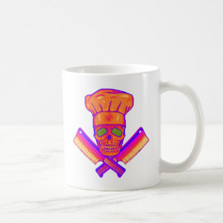Chef_Skull_psych Coffee Mugs