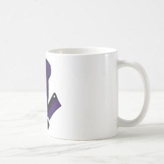 Chef_Skull_purple Coffee Mugs