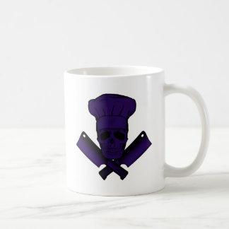 Chef_Skull_purple Mugs