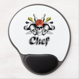 Chef Skull: Tools of the Trade Gel Mouse Pad