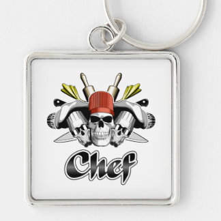 Chef Skull: Tools of the Trade Keychain