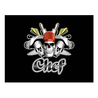 Chef Skull: Tools of the Trade Postcard
