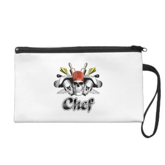 Chef Skull: Tools of the Trade Wristlet