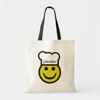 Chef Smiley Budget Tote Bag