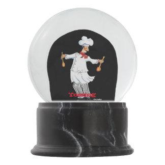 Chef Snow Globe
