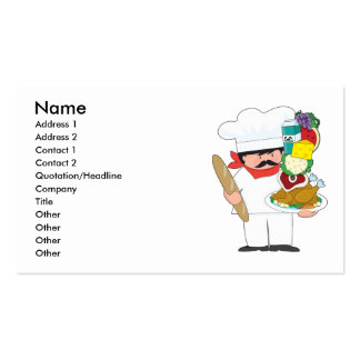 Chef Stack Business Card