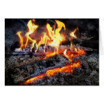 Chef - Stove - The Yule log Greeting Cards