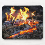 Chef - Stove - The Yule log Mouse Pad