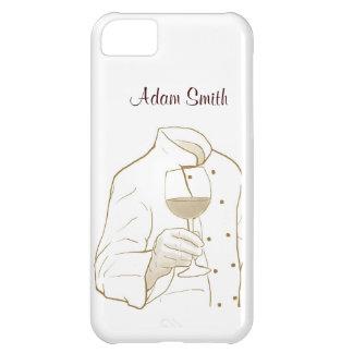 Chef Suit and Wine iPhone 5C Case